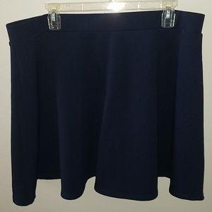 Forever 21 navy skirt